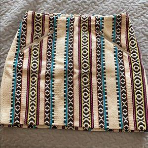H&M Printed Mini Skirt